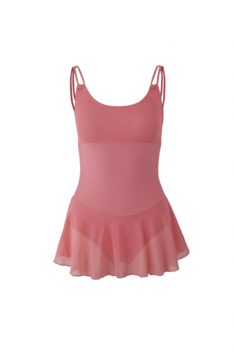 Lali Leotard with Double Straps & Voile Skirt